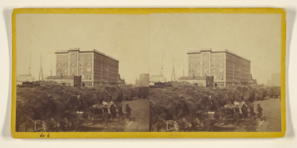 This is What Samuel Montague Fassett and Linds Block Looked Like  in 1860